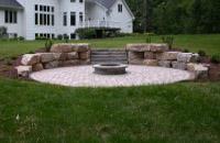 Backyard Circular Firepit